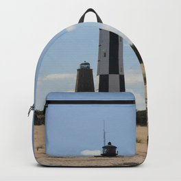 Short And Tall Cape Henry Lights Backpack