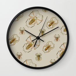 Spiders! Wall Clock