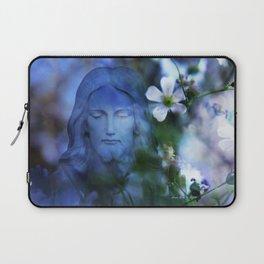 Jesus Christ In The Garden By Annie Zeno Laptop Sleeve