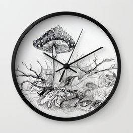 Forest Floor Wall Clock