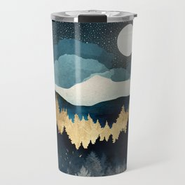 Indigo Night Travel Mug
