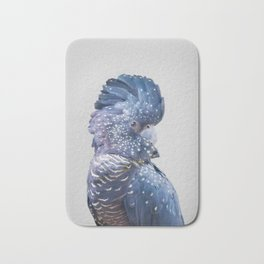 Black Cockatoo Bath Mat