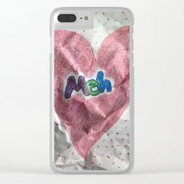 Divorce Valentine Clear iPhone Case
