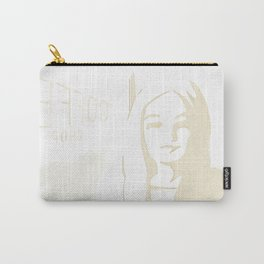 Friends who make a 3 hour coffee chat seem too short | By: Melissa Medwyk Carry-All Pouch
