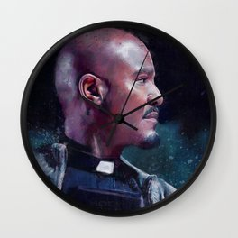 Father Gabriel With His Bible - The Walking Dead Wall Clock