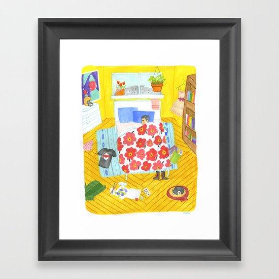Perfect Bedroom Framed Art Print