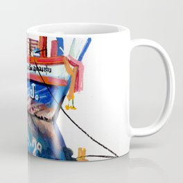Thai fishing boat painting Coffee Mug