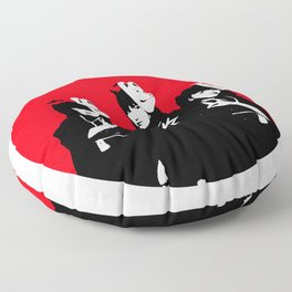 Japanese Metal Girls Floor Pillow