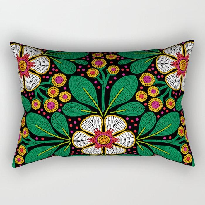 CLUSIA MARACATU Rectangular Pillow