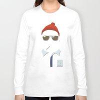 steve mcqueen Long Sleeve T-shirts featuring Steve by John McKeever