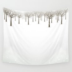 Winter Forest by Friztin Wall Tapestry