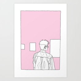 ART BOY Art Print