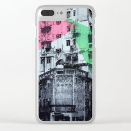 Good Morning Hong Kong 2 Clear iPhone Case