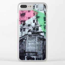 Good Morning Hong Kong 2 Clear iPhone Case