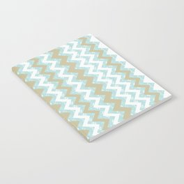 Chevrons and Dots Notebook
