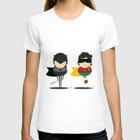 super heroes T-shirts featuring Heroes & super friends! by Juliana Rojas | Puchu