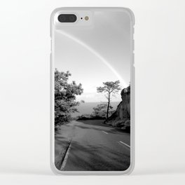 Rainbow at Torrey Pines Clear iPhone Case