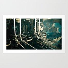 City-zen par Jean-François Dupuis Art Print