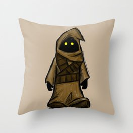 Jawa Scavenger Throw Pillow
