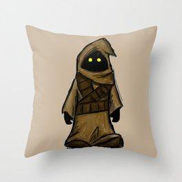 Jawa Scavenger Throw Pillow