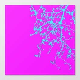 corrected orchid Canvas Print