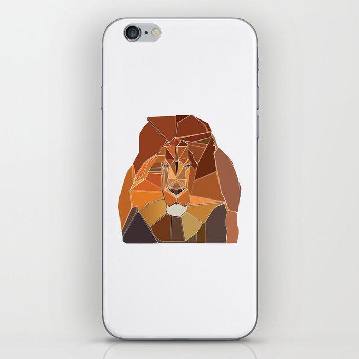 Crystal Lion iPhone Skin