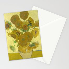 Sunflowers (Vincent Van Gogh series) Stationery Cards