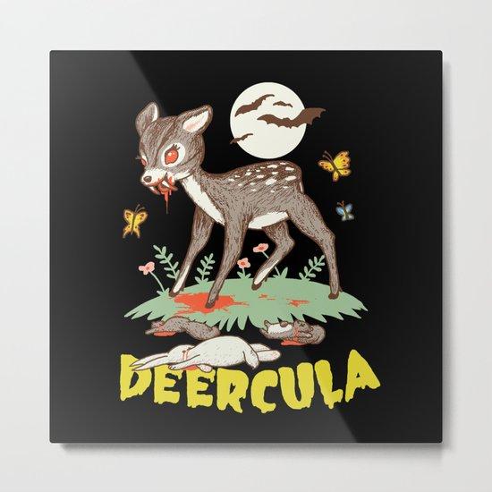 Deercula Metal Print