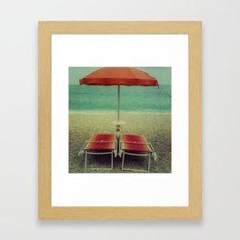 arancio Framed Art Print