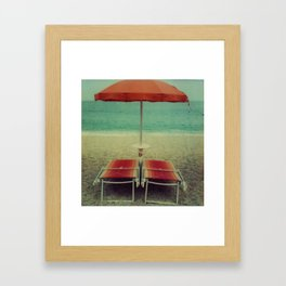 arancio Framed Art Print