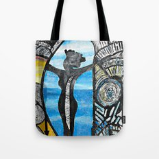 Seaside Beauty Queen Tote Bag