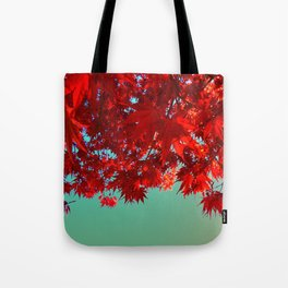 Fire Maple Tote Bag
