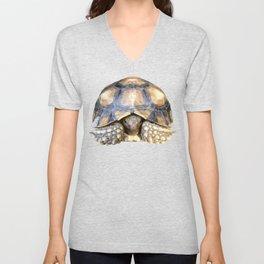 Sulcata Tortoise Unisex V-Neck