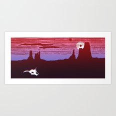 Moab Utah Southwest Desert Landscape Art Print