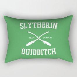 Hogwarts Quidditch Team: Slytherin Rectangular Pillow