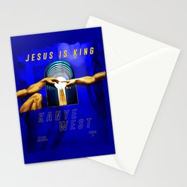 Jesus is King Stationery Cards