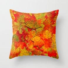 Indian Summer V Throw Pillow
