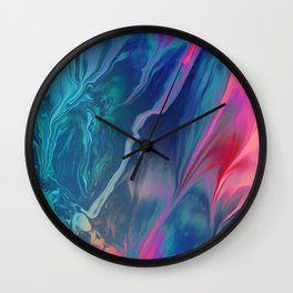 Color scattering Wall Clock