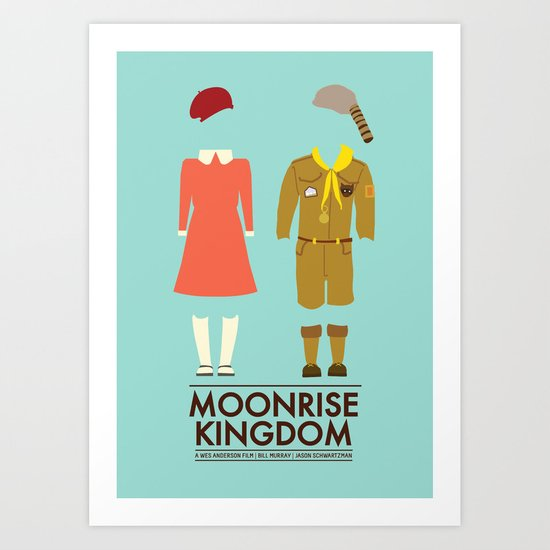 Moonrise Kingdom Poster Art Print