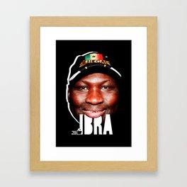TOILET CLUB #ibra Framed Art Print