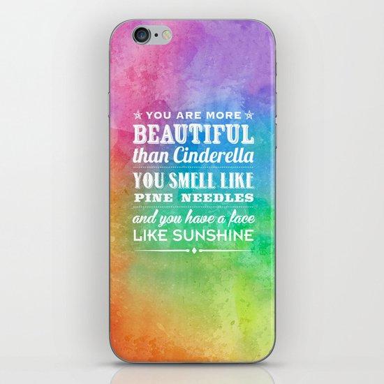 Sunshine Face iPhone Skin