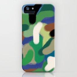 Camouflage Hero Tribute iPhone Case