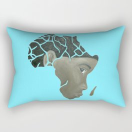 African Continent Rectangular Pillow