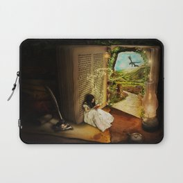The Book Of Secrets Laptop Sleeve