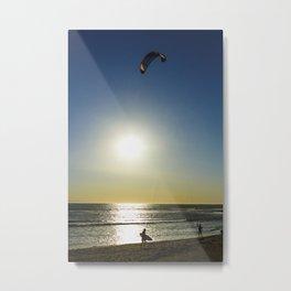 kite surfers Metal Print
