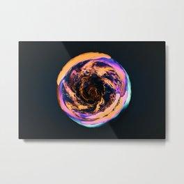Colorful Black Hole Metal Print