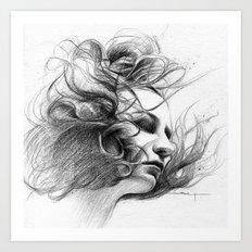 Viento Art Print