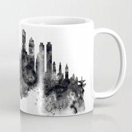 Boston Skyline Black and White Coffee Mug