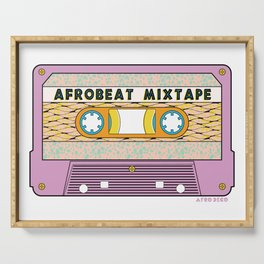 AFROBEAT MIXTAPE Serving Tray