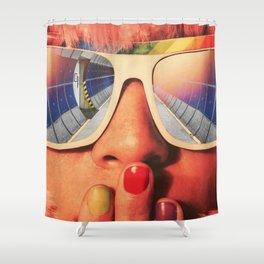 Future Girl Shower Curtain